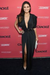 Emmanuelle Chriqui – Crackle Sequestered & Cleaners Premieres in West Hollywood