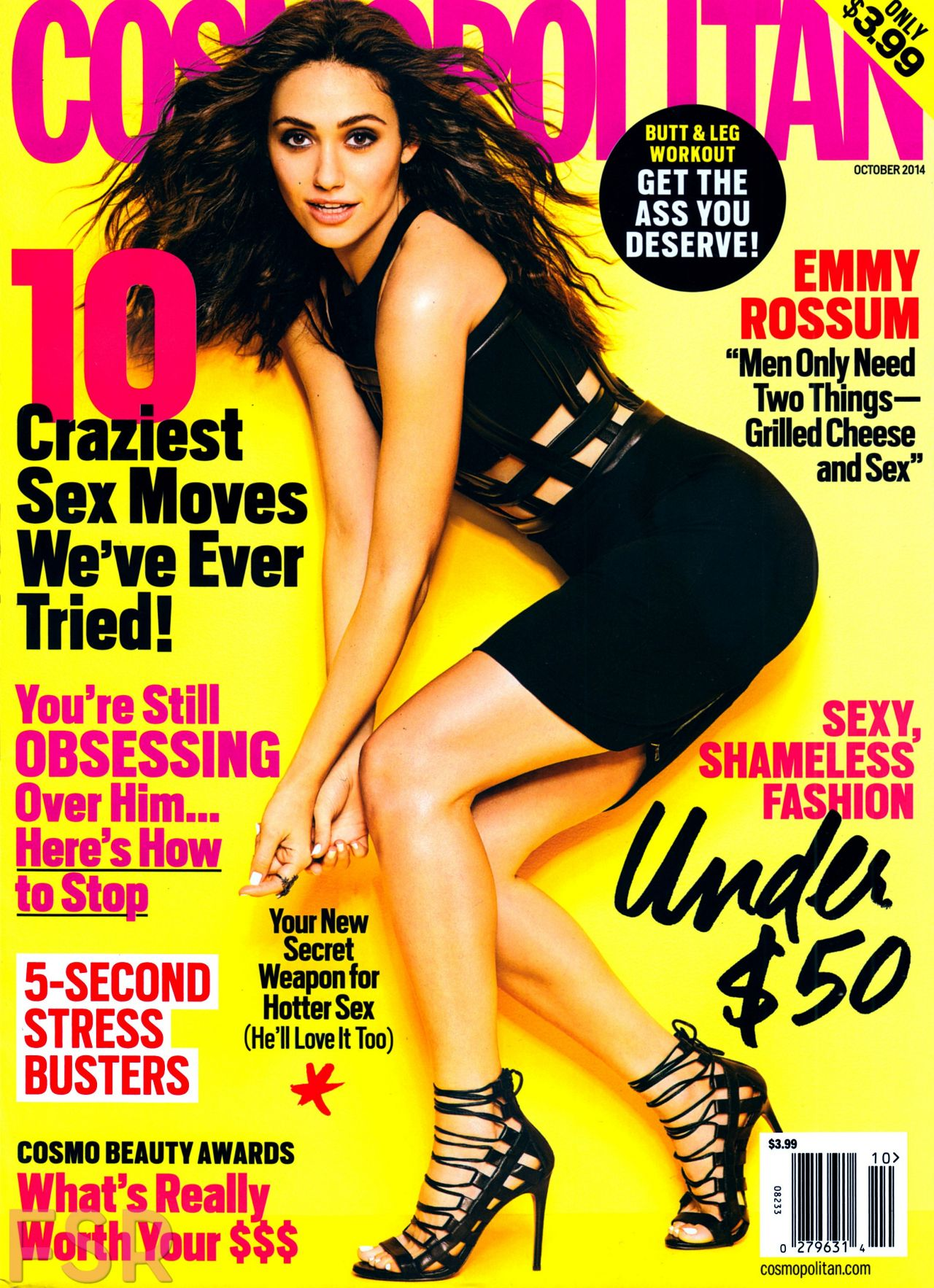 Emmy Rossum - Cosmopolitan Magazine October 2014 Issue
