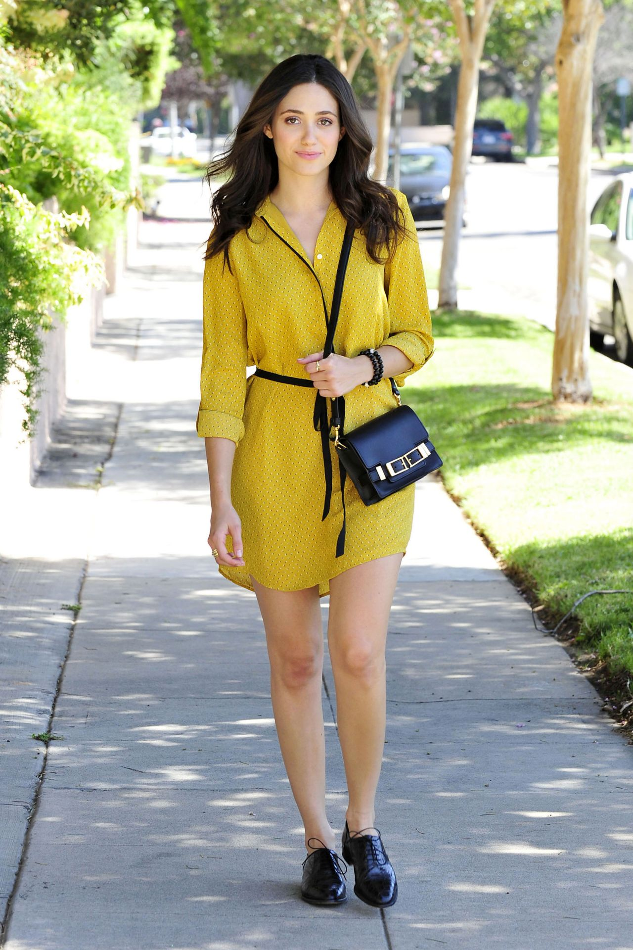 Emmy Rossum Out in Beverly Hills - August 2014