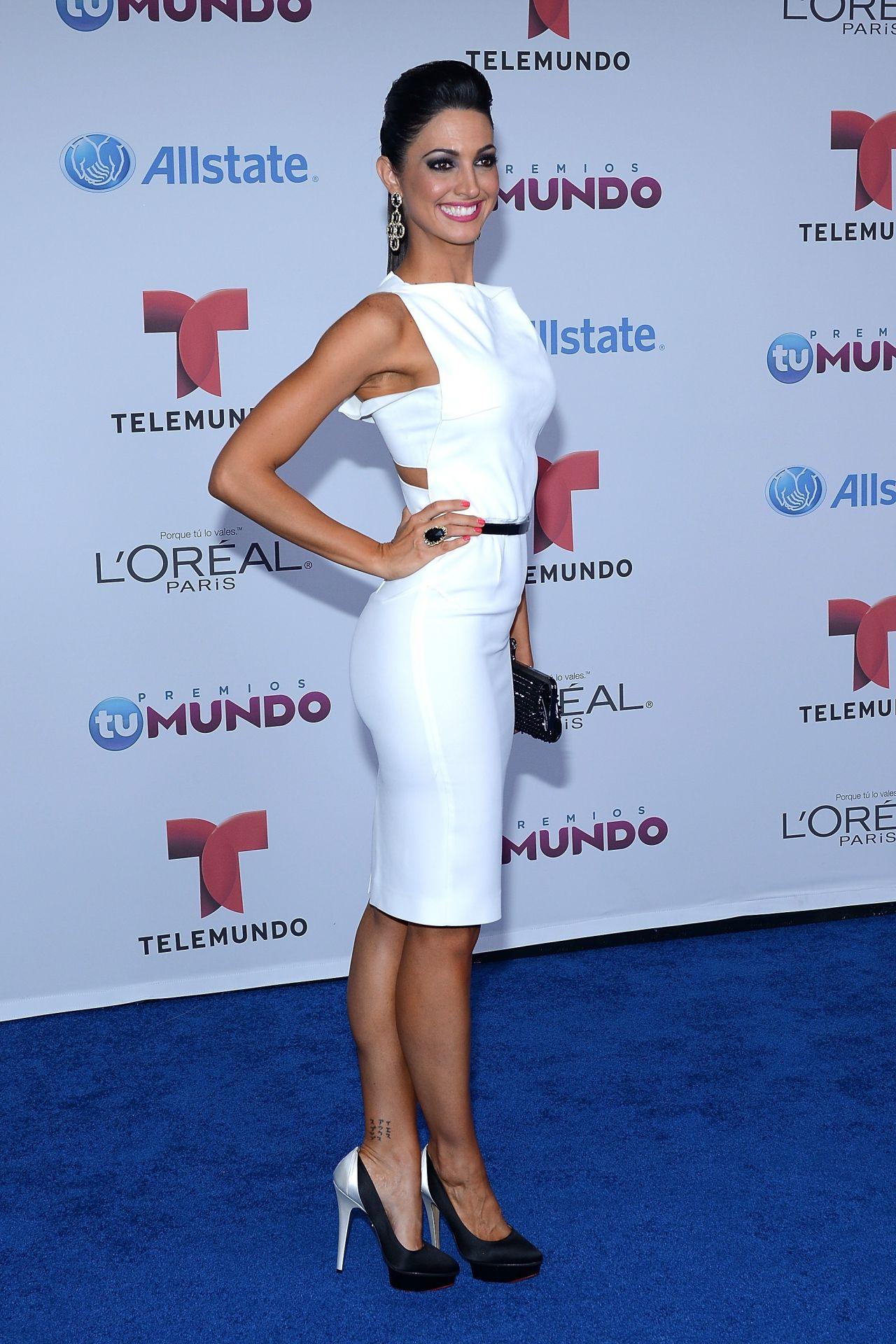 Erika Csiszer – 2014 Telemundo's Premios Tu Mundo Awards