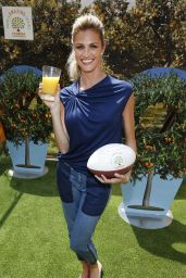 Erin Andrews - Florida Orange Juice Tailgate Event