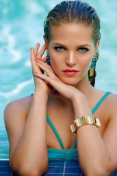 Erin Heatherton Bikini Photoshoot for Ocean Drive Magazine July/August 2014