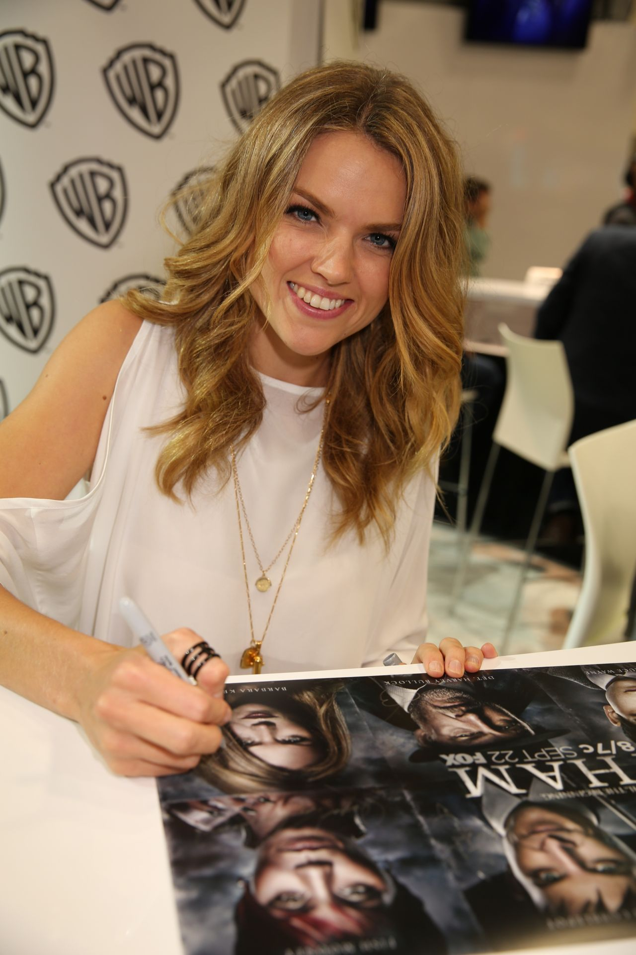 Erin Richards - Warner Bros. at SDCC 2014