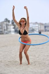 Estella Warren in a Bikini at Venice Beach - August 2014
