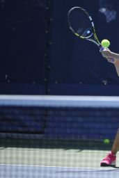 Eugenie Bouchard Practice at the 2014 US Open in New York City