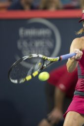 Eugenie Bouchard – Rogers Cup 2014 in Montreal, Canada – 1st Round