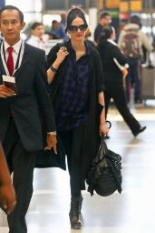 Eva Green at LAX Airport - August 2014