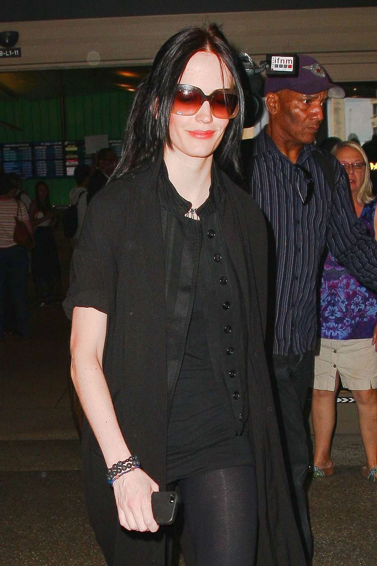 Eva Green At Lax Airport In Los Angeles August 2014