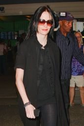 Eva Green at LAX Airport in Los Angeles - August 2014