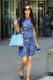Famke Janssen - Out in New York City, August 2014