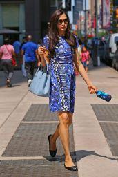 Famke Janssen - Out in New York City - August 2014