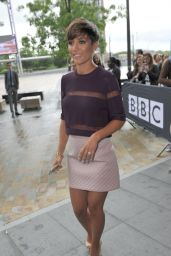 Frankie Bridge - The Saturdays BBC Media City Hotel in Manchester