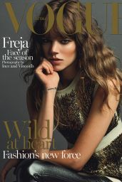 Freja Beha Erichsen - Vogue Magazine (Australia) - September 2014 Cover