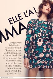 Gemma Arterton - ELLE Magazine (France) August 2014 Issue
