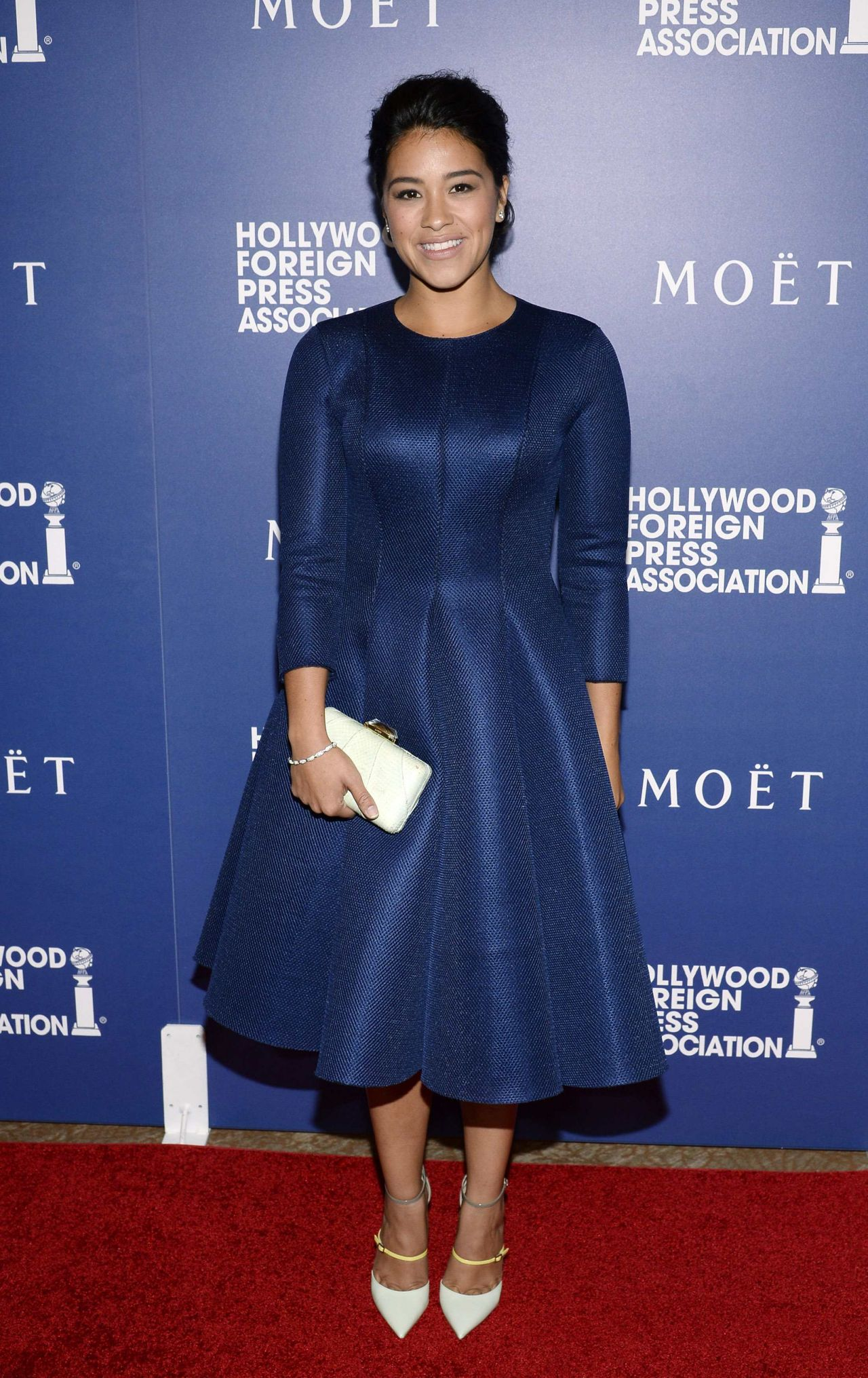 Gina Rodriguez - HFPA Grants Banquet - August 2014