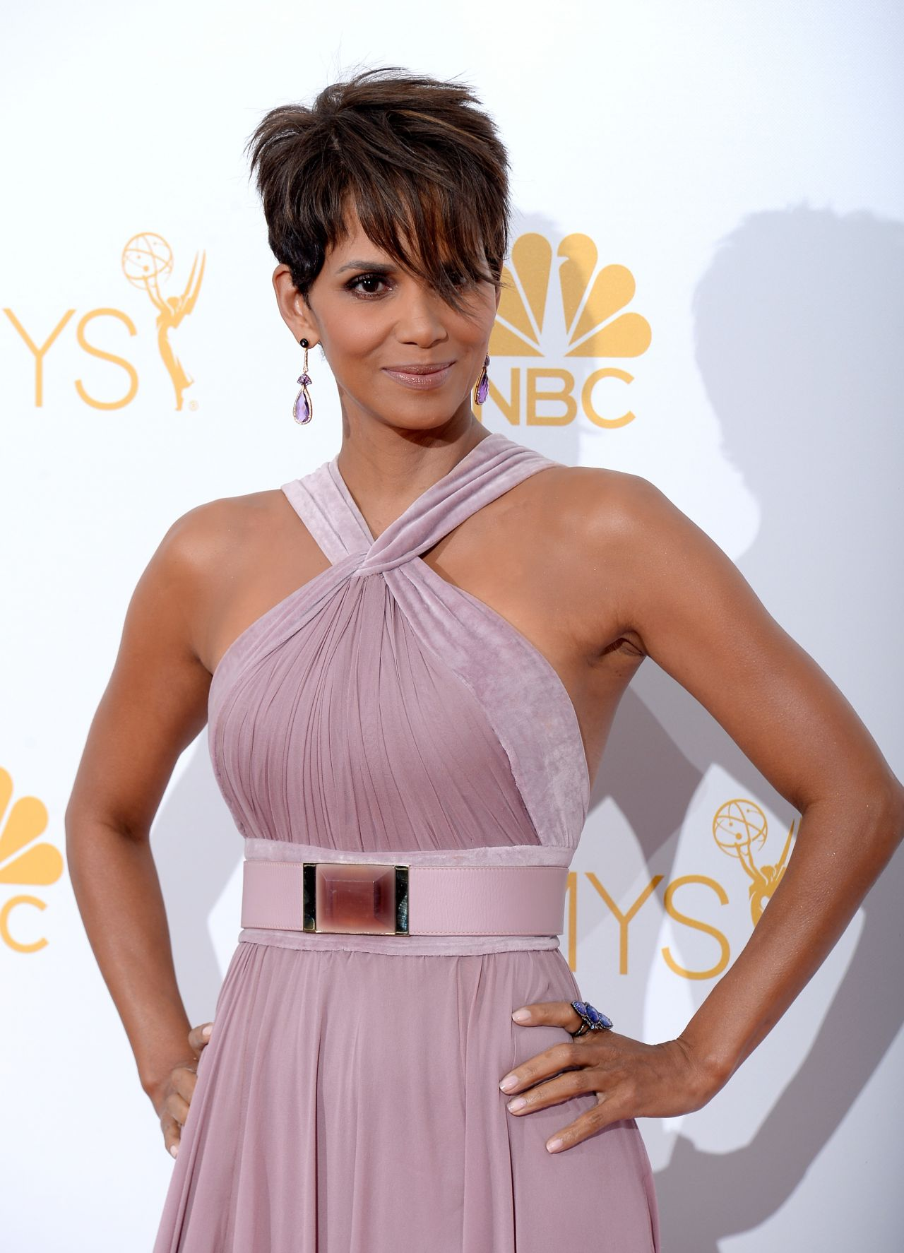 Halle Berry 2014 Primetime Emmy Awards In Los Angeles