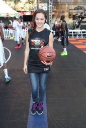 Hayley Orrantia -2014 Josh Hutcherson Celebrity Basketball Game in Los Angeles