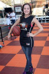 Hayley Orrantia -2014 Josh Hutcherson Celebrity Basketball Game in Los Angeles