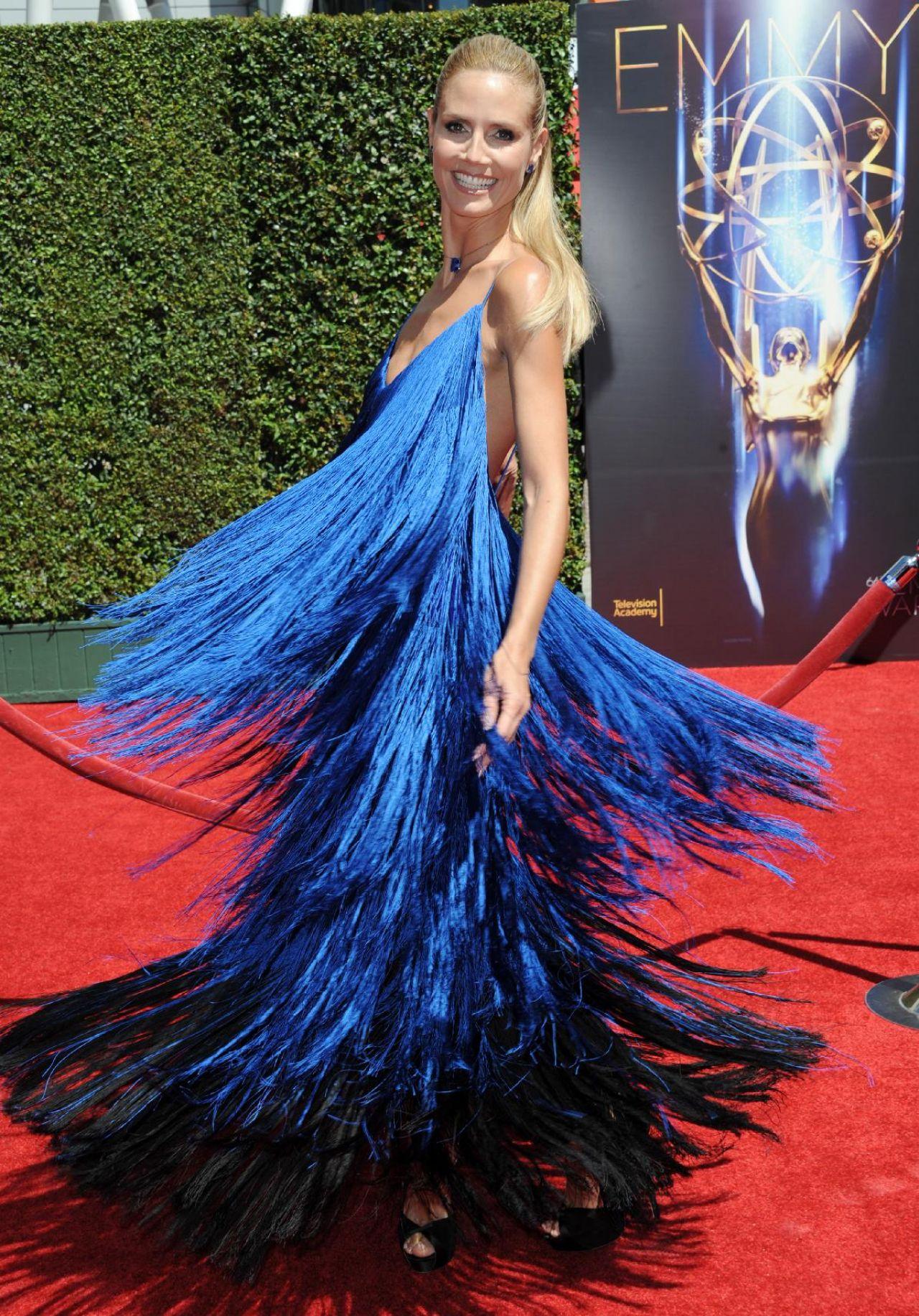 Heidi Klum - 2014 Creative Arts Emmy Awards in Los Angeles