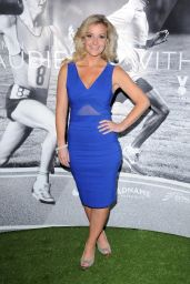 Helen Skelton at The Royal Garden Hotel in London