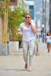 Hilary Duff - Out in Beverly Hills - August 2014