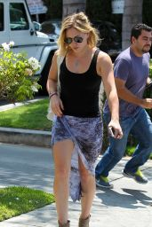 Hilary Duff - Out in Los Angeles, August 2014