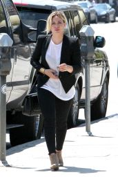 Hilary Duff - Out In West Hollywood - August 2014