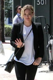 Hilary Duff – Out in West Hollywood – August 2014