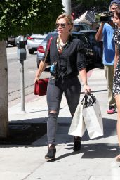 Hilary Duff Style - Out in Los Angeles, August 2014