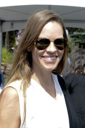 Hilary Swank at Patron