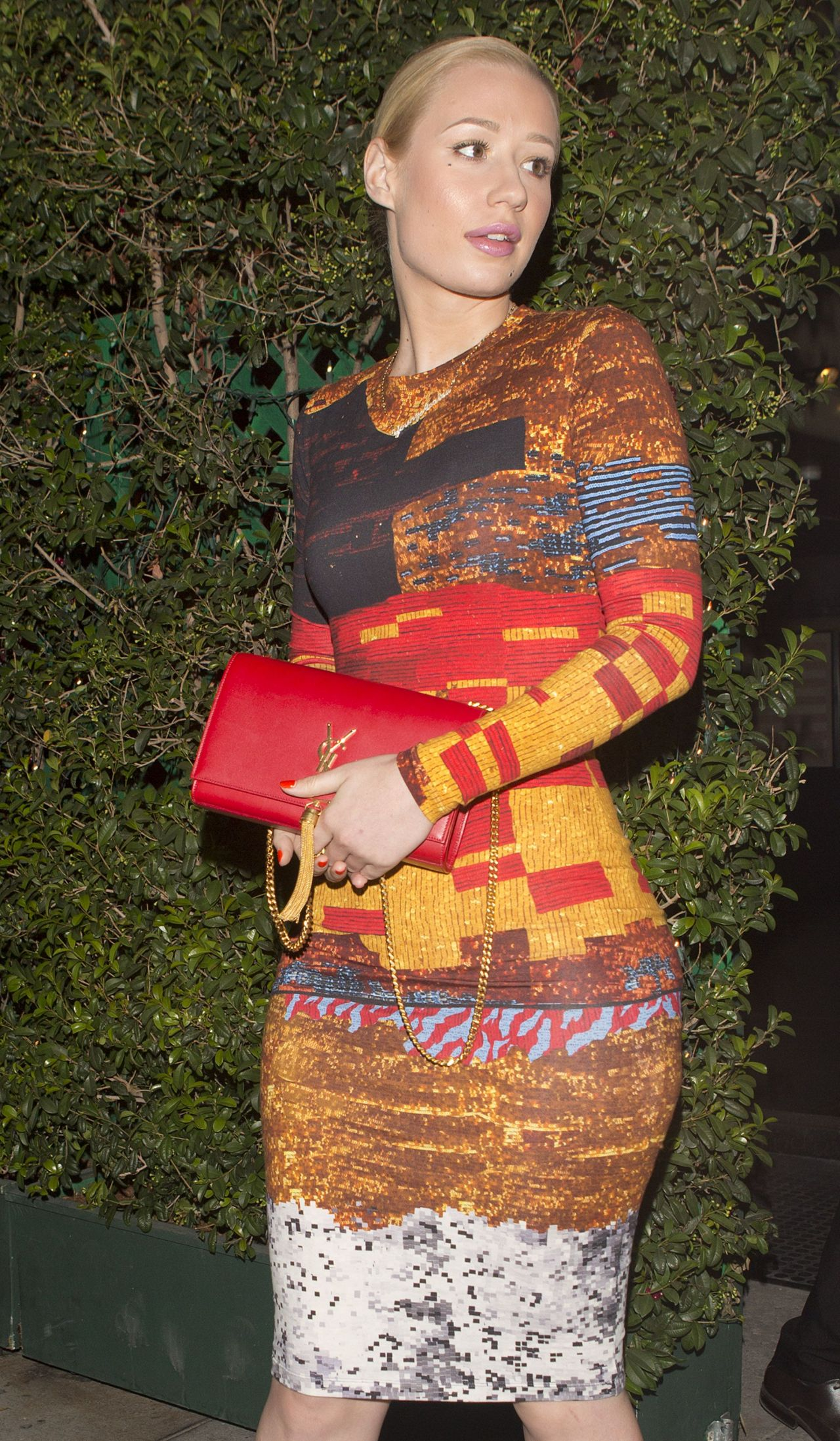 Iggy Azalea Night Out Style - at Mr. Chow in Beverly Hill - Aug. 2014