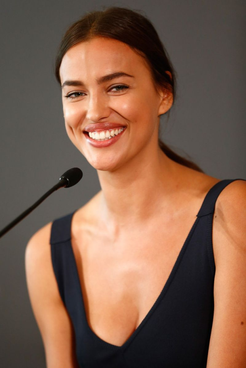 Irina Shayk Hercules Press Conference In Berlin