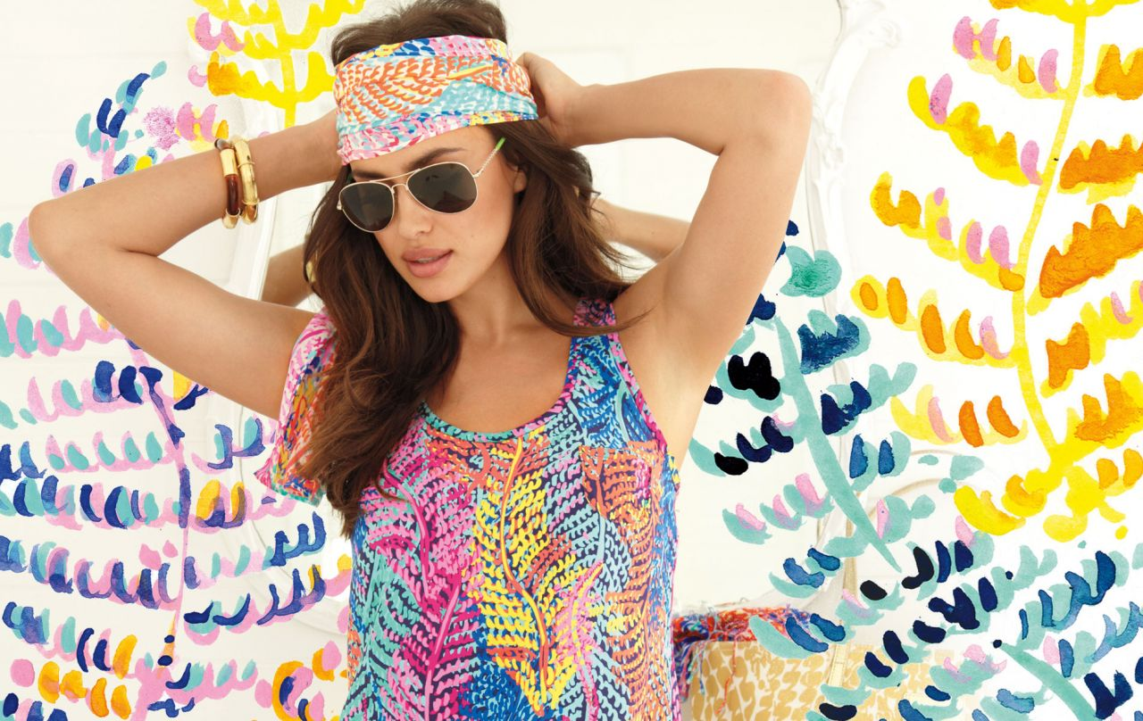 Irina Shayk – Lilly Pulitzer Fall 2014 '#RESORT365′ Collection Catalogue