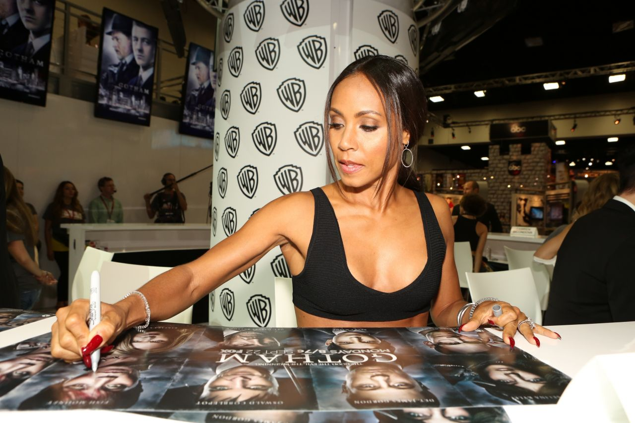 Jada Pinkett Smith - Warner Bros. at SDCC 2014