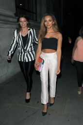 Jade Thirlwall Night Out Style - Steam & Rye London - July 2014