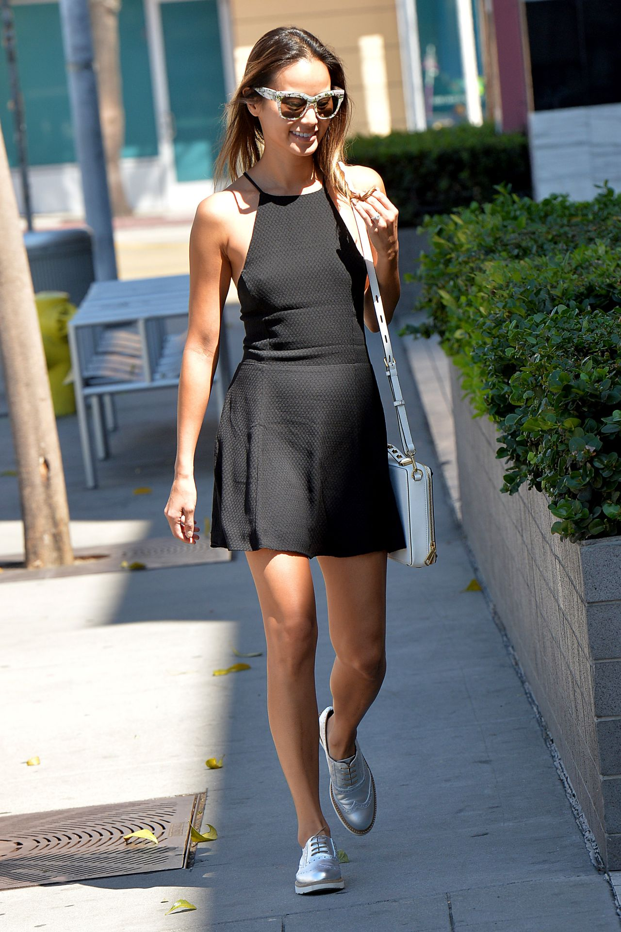 Jamie Chung Hot Legs - Out in West Hollywood, August 2014