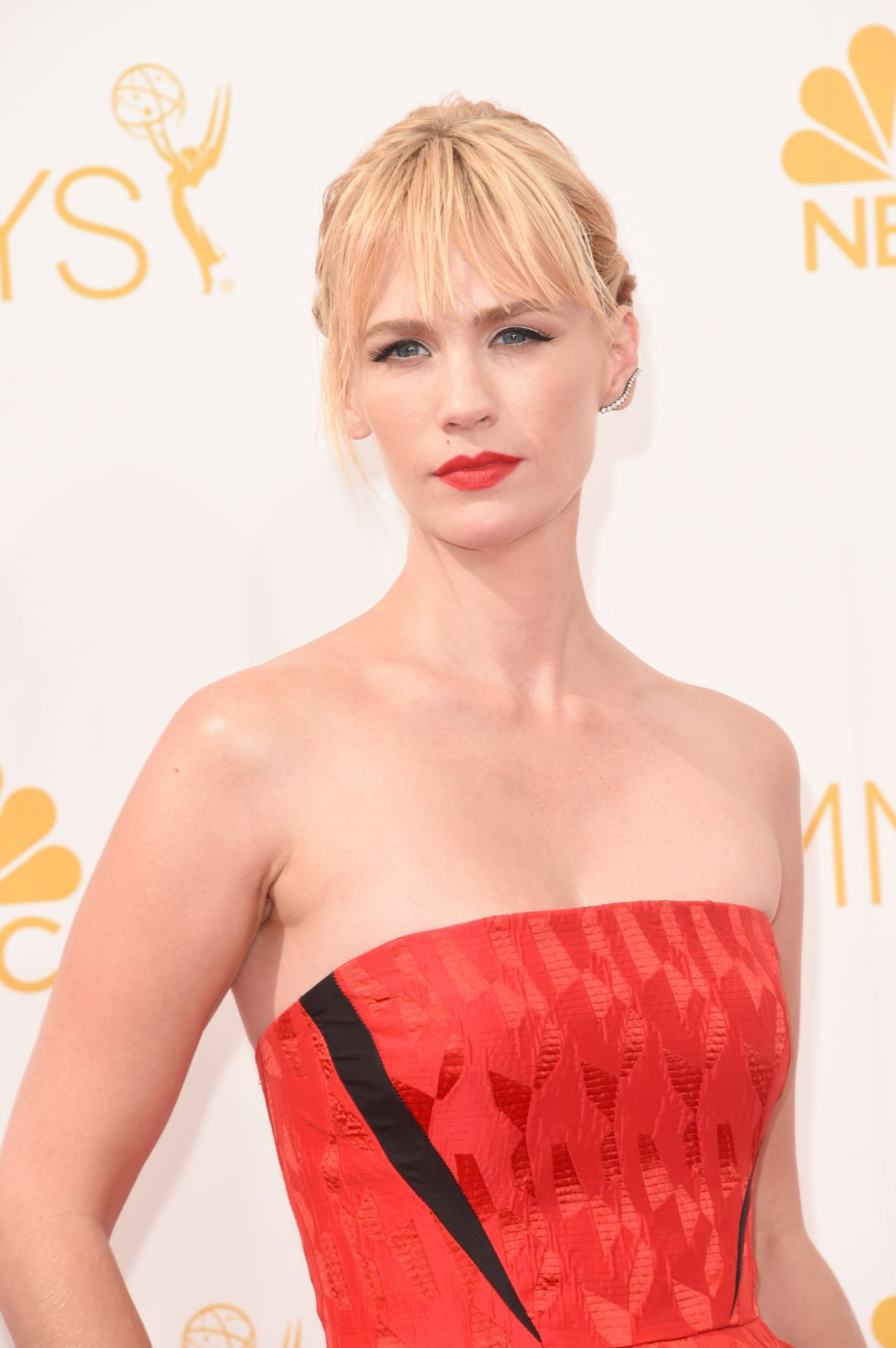 January Jones – 2014 Primetime Emmy Awards in Los Angeles