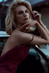 January Jones - Vogue Magazine (Italy) August 2014 Issue