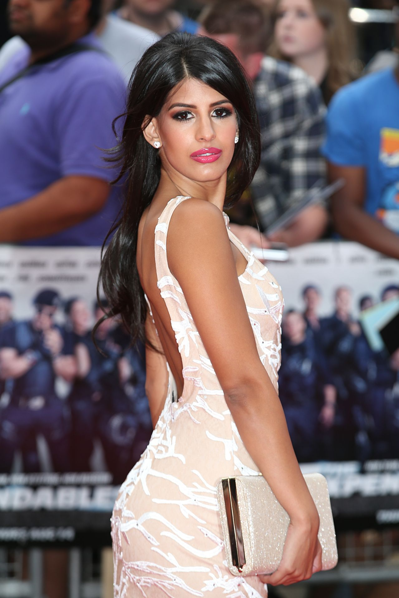 Jasmin Walia – 'The Expendables 3′ World Premiere in London