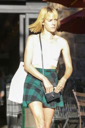 Jena Malone Flashes Her Legs – Leaving Gelson's Market in Los Feliz – August 2014