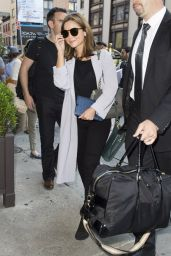 Jenna-Louise Coleman Arriving to Her Hotel in New York City - August 2014