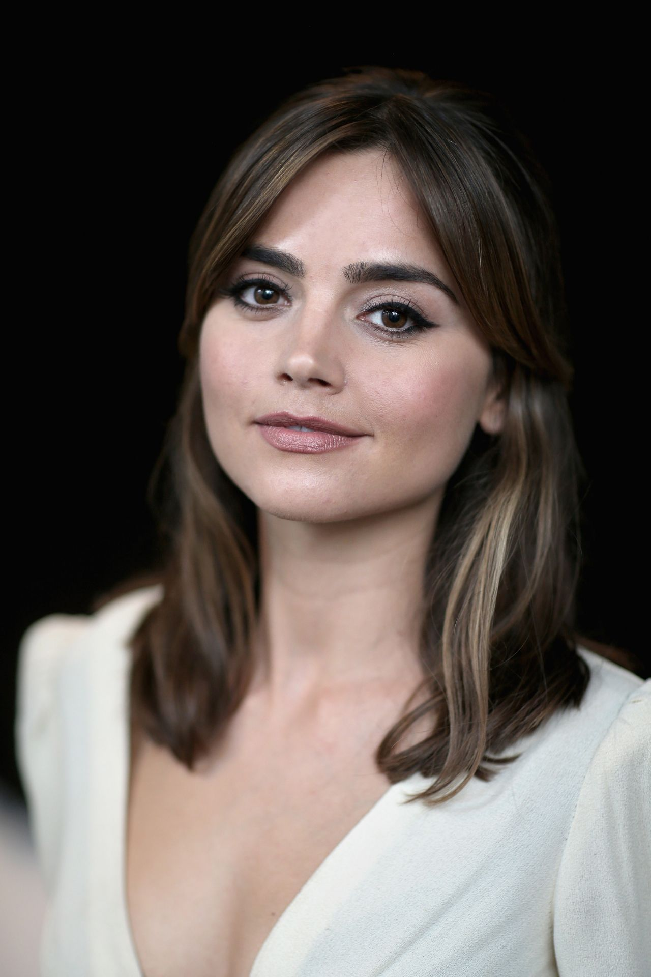 Jenna Louise Coleman Doctor Who London Screening