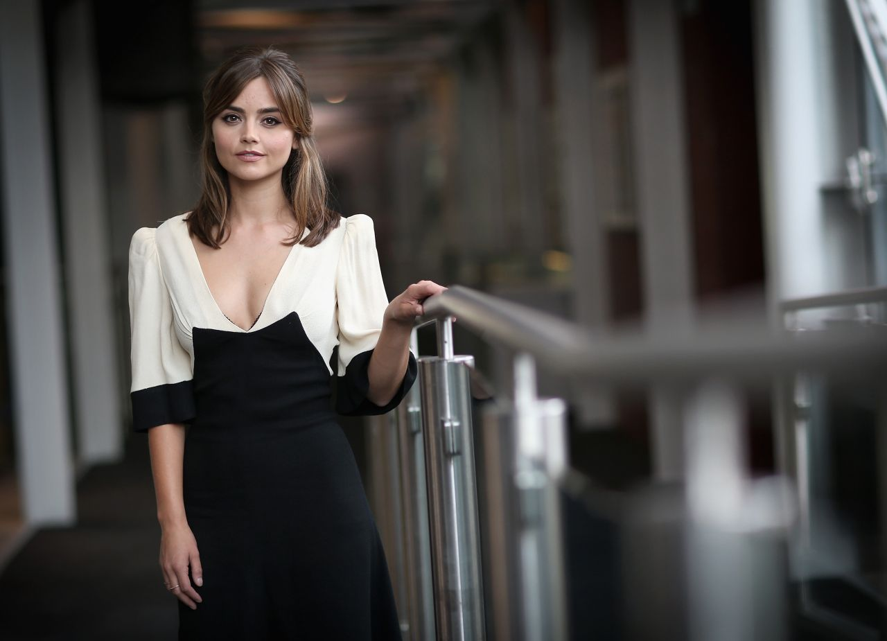 Jenna Louise Coleman - Doctor Who London Screening Portraits - August 2014-3737