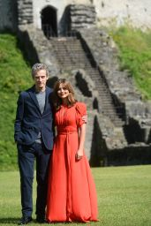 Jenna Louise Coleman - Dr Who Premiere in Cardiff, Wales - August 2014