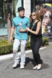 Jennette Mccurdy Street Style - Shopping at the Grove, August 2014