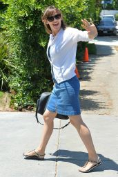Jennifer Garner at Private Party in Brentwood - August 2014