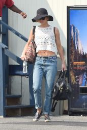 Jennifer Lawrence in Jeans - Out in New York City - August 2014