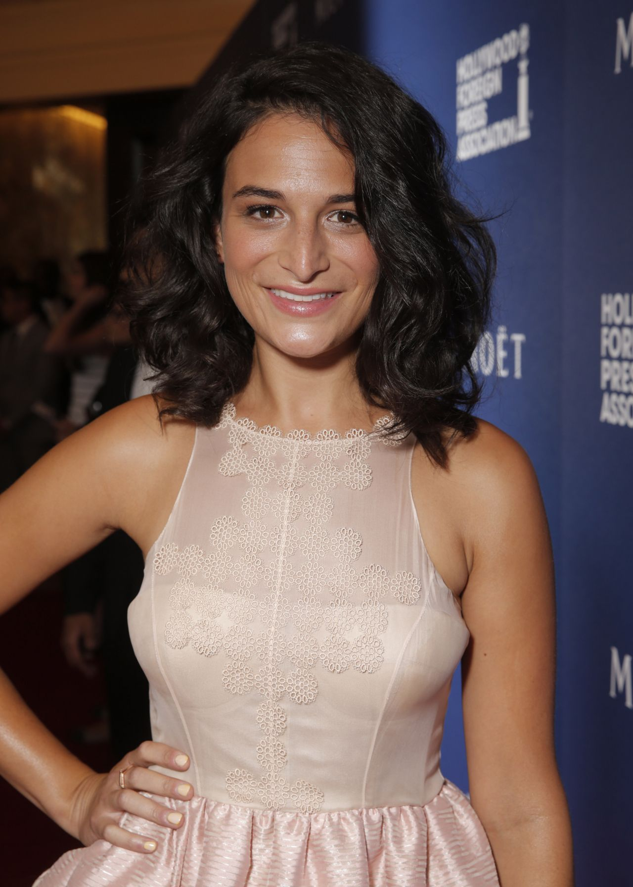 Jenny Slate At Hfpa Grants Banquet August 2014
