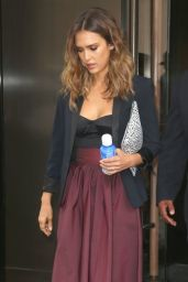 Jessica Alba Leaves the Trump Soho Hotel in New York City - Aug. 2014