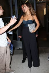 Jessica Alba - Outside the Watch What Happens Live Studios in New York City
